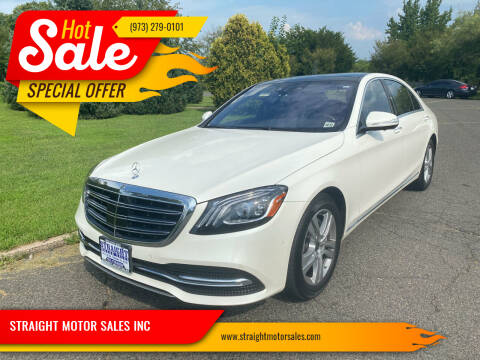2019 Mercedes-Benz S-Class for sale at STRAIGHT MOTOR SALES INC in Paterson NJ