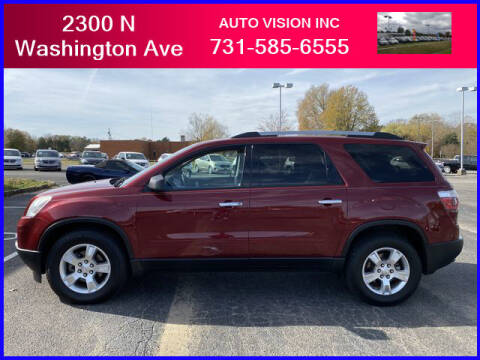 2011 GMC Acadia for sale at Auto Vision Inc. in Brownsville TN