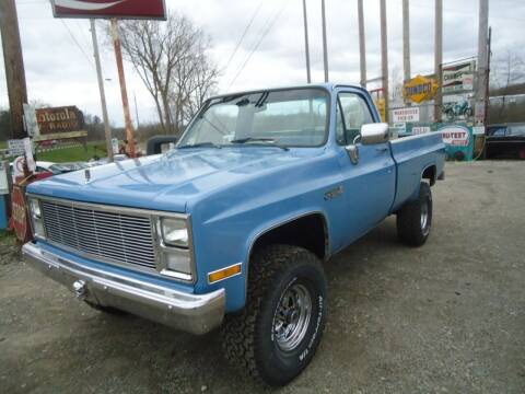 1986 Chevrolet C/K 1500 Series for sale at Marshall Motors Classics in Jackson Michigan MI