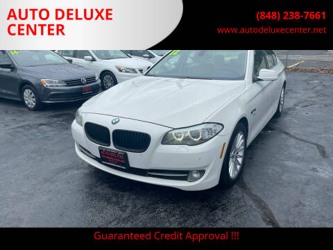 2012 BMW 5 Series for sale at AUTO DELUXE CENTER in Toms River NJ
