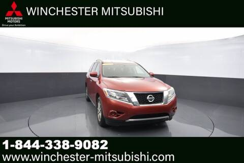 2013 Nissan Pathfinder for sale at Winchester Mitsubishi in Winchester VA