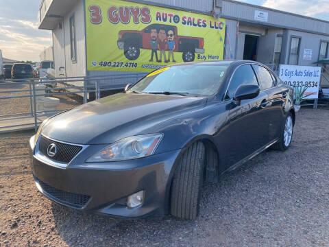 2006 Lexus IS 250 for sale at 3 Guys Auto Sales LLC in Phoenix AZ