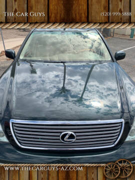 2001 Lexus LS 430 for sale at The Car Guys in Tucson AZ