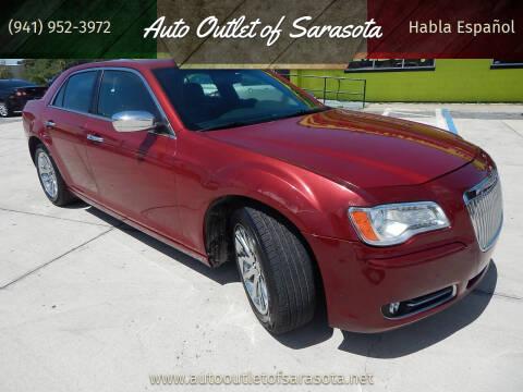 2012 Chrysler 300 for sale at Auto Outlet of Sarasota in Sarasota FL
