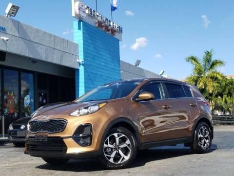2020 Kia Sportage for sale at Tech Auto Sales in Hialeah FL