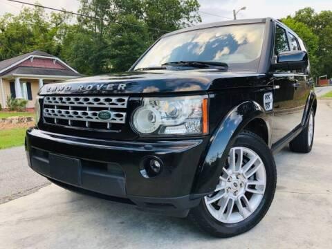 2011 Land Rover LR4 for sale at E-Z Auto Finance in Marietta GA