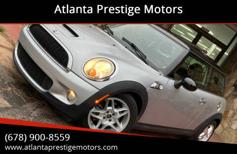 2009 MINI Cooper for sale at Atlanta Prestige Motors in Decatur GA