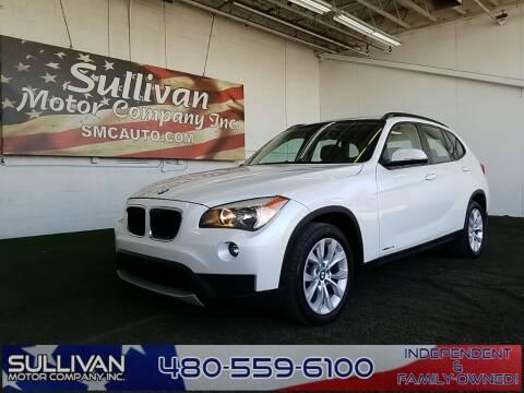 2014 BMW X1 for sale at SULLIVAN MOTOR COMPANY INC. in Mesa AZ