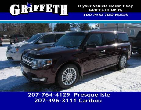2018 Ford Flex for sale at Griffeth Mitsubishi - Pre-owned in Caribou ME