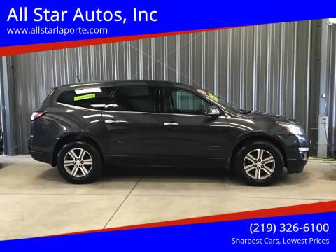 2016 Chevrolet Traverse for sale at All Star Autos, Inc in La Porte IN