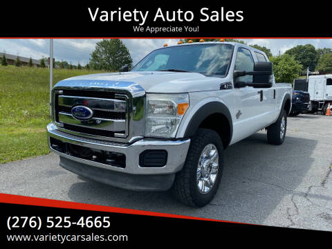 2011 Ford F-350 Super Duty for sale at Variety Auto Sales in Abingdon VA