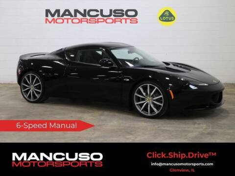 2011 Lotus Evora for sale at Mancuso Motorsports in Glenview IL