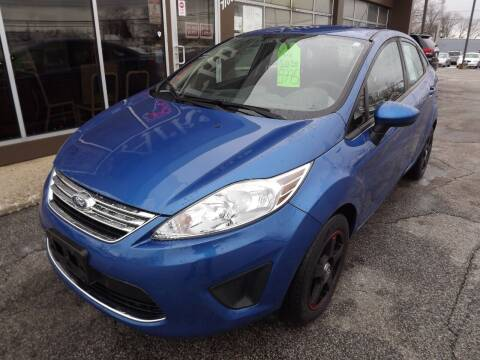 2011 Ford Fiesta for sale at Arko Auto Sales in Eastlake OH