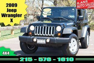 2009 Jeep Wrangler for sale at Ilan's Auto Sales in Glenside PA