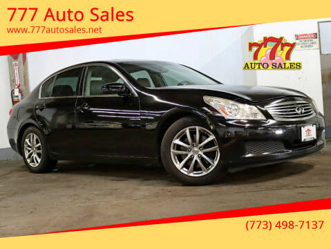 2008 Infiniti G35 for sale at 777 Auto Sales in Bedford Park IL
