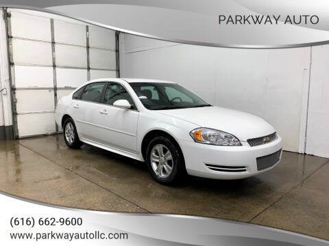 2012 Chevrolet Impala for sale at PARKWAY AUTO in Hudsonville MI