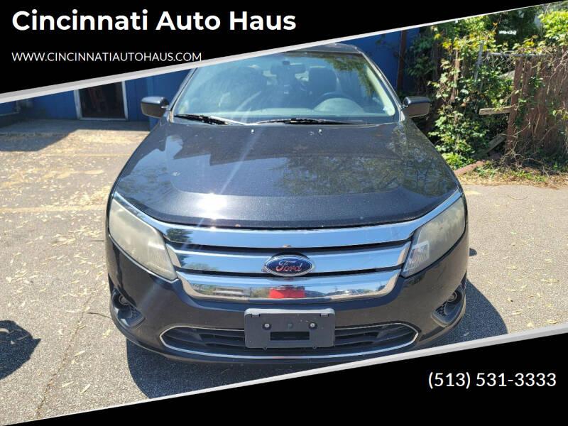 2010 Ford Fusion for sale at Cincinnati Auto Haus in Cincinnati OH
