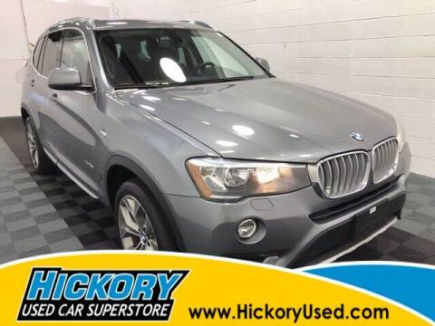 2017 BMW X3 for sale at Hickory Used Car Superstore in Hickory NC