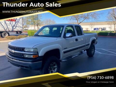 2001 Chevrolet Silverado 1500 for sale at Thunder Auto Sales in Sacramento CA