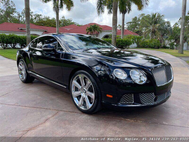 2012 Bentley Continental for sale at Autohaus of Naples in Naples FL