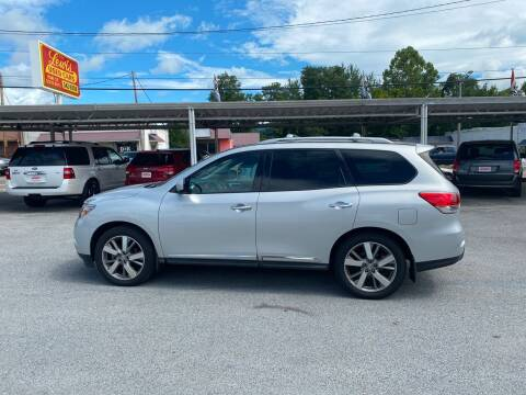 2015 Nissan Pathfinder for sale at Lewis Used Cars in Elizabethton TN