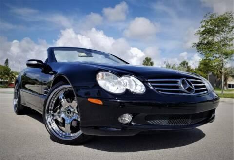 2005 Mercedes-Benz SL-Class for sale at Progressive Motors in Pompano Beach FL