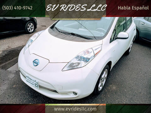 2011 Nissan LEAF for sale at EV RIDES LLC in Portland OR