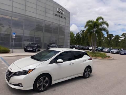 2020 Nissan LEAF for sale at Infiniti Stuart in Stuart FL