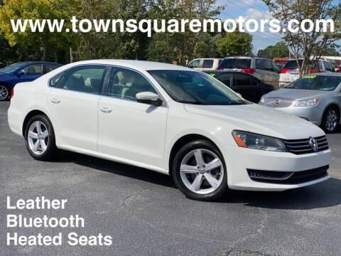 2013 Volkswagen Passat for sale at Town Square Motors in Lawrenceville GA