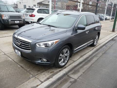 2013 Infiniti JX35 for sale at Car Center in Chicago IL