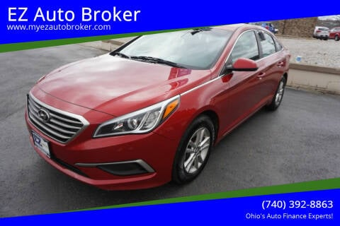 2017 Hyundai Sonata for sale at EZ Auto Broker in Mount Vernon OH