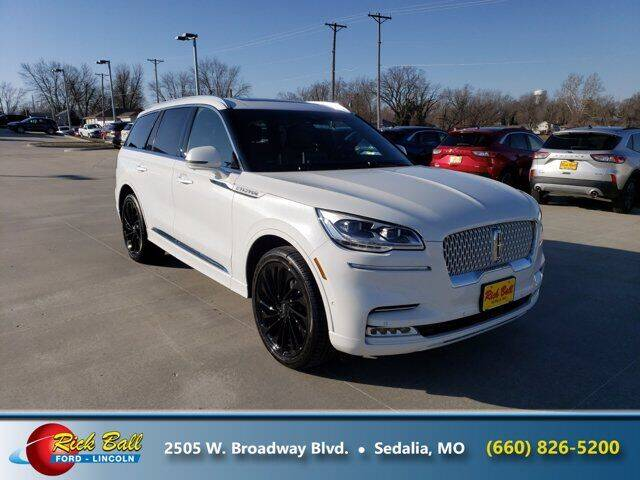 2021 Lincoln Aviator for sale at RICK BALL FORD in Sedalia MO
