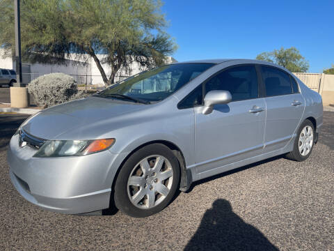2008 Honda Civic for sale at Tucson Auto Sales in Tucson AZ