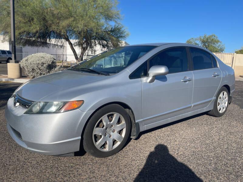 2008 Honda Civic for sale at Tucson Auto Sales in Tucson AZ