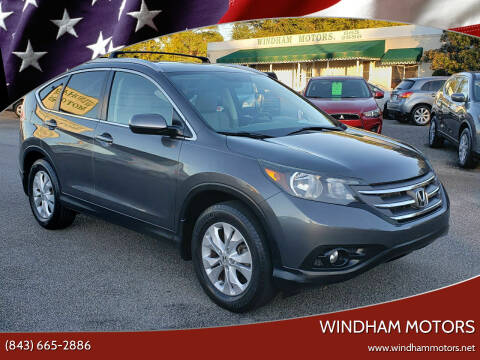 2012 Honda CR-V for sale at Windham Motors in Florence SC