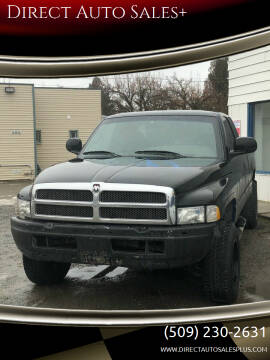1998 Dodge Ram Pickup 1500 for sale at Direct Auto Sales+ in Spokane Valley WA