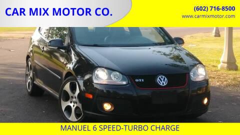 2008 Volkswagen GTI for sale at CAR MIX MOTOR CO. in Phoenix AZ