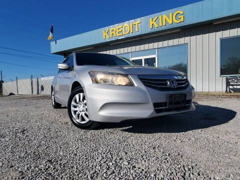 2012 Honda Accord for sale at Kredit King Autos in Montgomery AL
