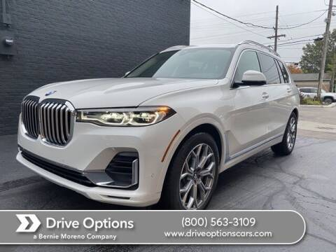 2021 BMW X7 for sale at Drive Options in North Olmsted OH