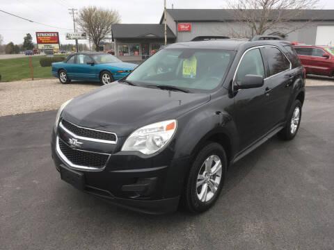 2015 Chevrolet Equinox for sale at JACK'S AUTO SALES in Traverse City MI