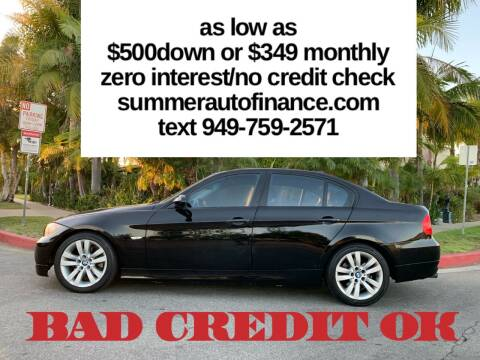 2006 BMW 3 Series for sale at SUMMER AUTO FINANCE in Costa Mesa CA