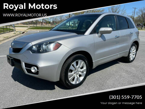 2012 Acura RDX for sale at Royal Motors in Hyattsville MD