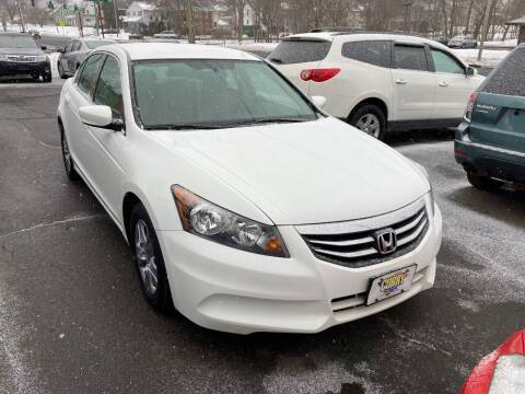 2012 Honda Accord for sale at ENFIELD STREET AUTO SALES in Enfield CT