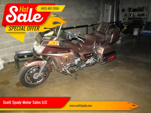 1986 Honda GL 1200A for sale at Scott Spady Motor Sales LLC in Hastings NE