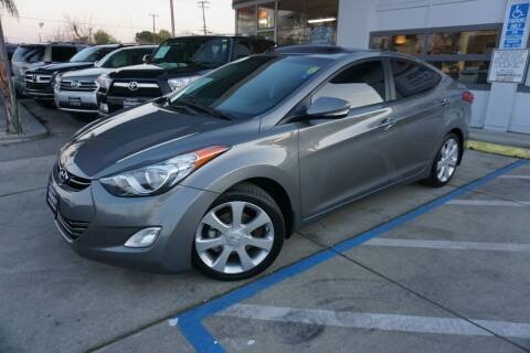 2013 Hyundai Elantra for sale at Industry Motors in Sacramento CA