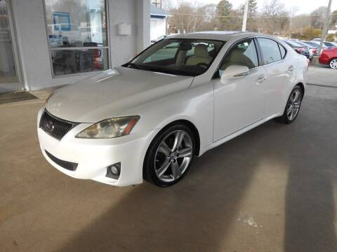 2012 Lexus IS 250 for sale at Auto America in Charlotte NC