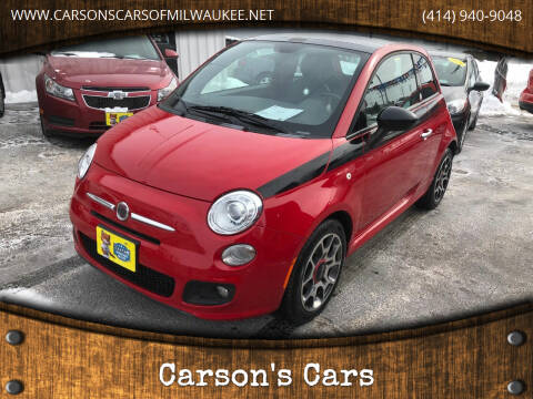 2012 FIAT 500 for sale at Carson's Cars in Milwaukee WI