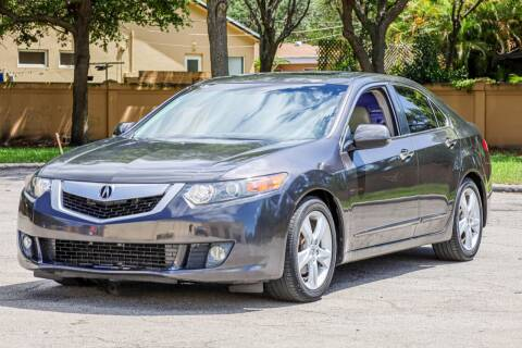 2009 Acura TSX for sale at Easy Deal Auto Brokers in Hollywood FL