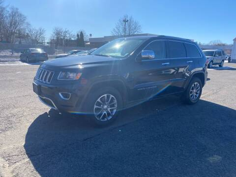 2014 Jeep Grand Cherokee for sale at Riverside Auto Sales & Service in Portland ME