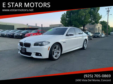 2016 BMW 5 Series for sale at E STAR MOTORS in Concord CA